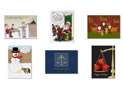 Lawyer Christmas Cards